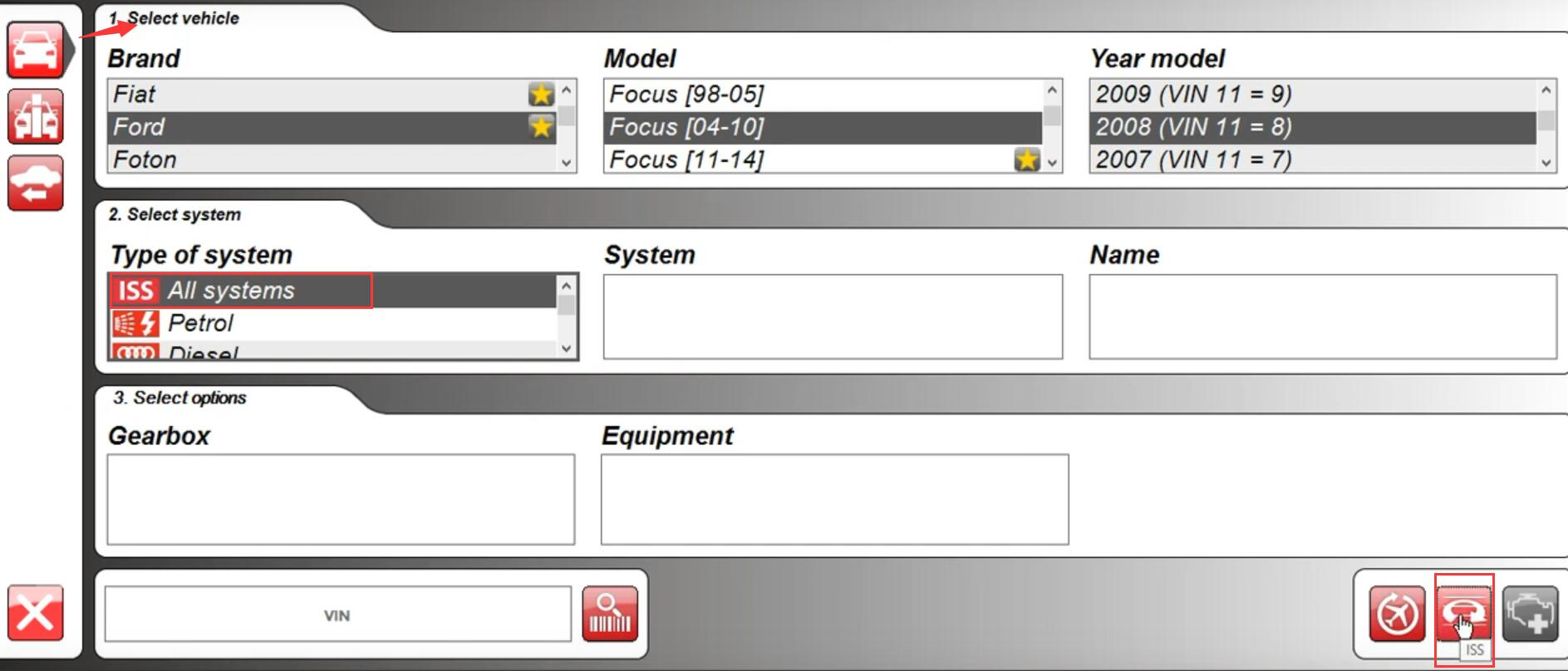 How-to-Scan-ISS-by-Delphi-DS150e-2017-Rev.3-for-2008-Ford-Focus-2