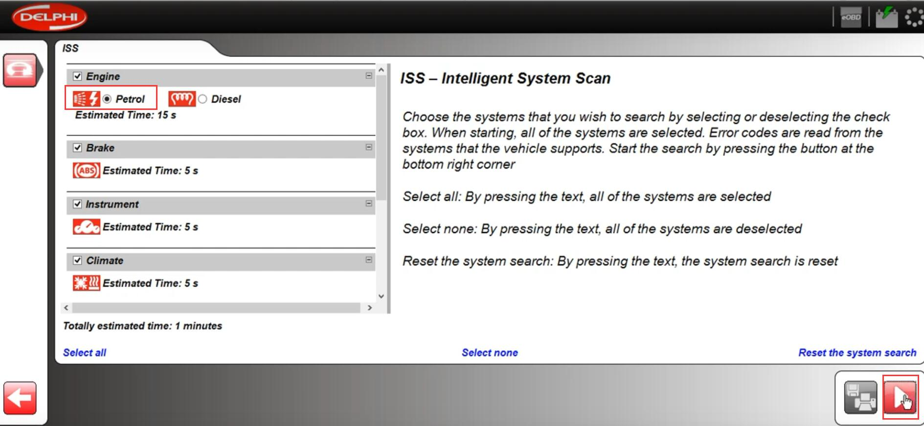 How-to-Scan-ISS-by-Delphi-DS150e-2017-Rev.3-for-2008-Ford-Focus-3