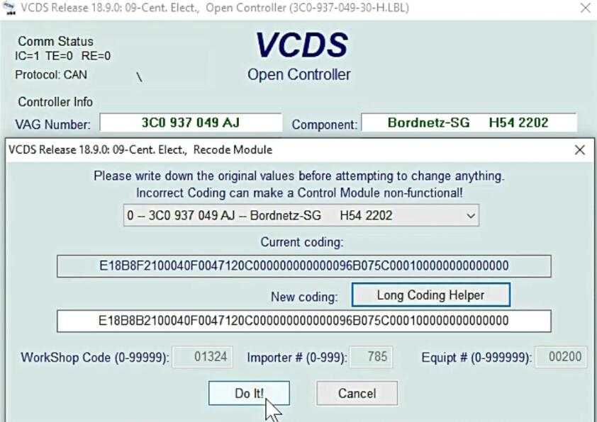 How-to-Clear-LED-Errors-via-VCDS-for-VW-10