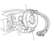 Remove-and-Install-Contact-Coil-Cable-Assembly-for-Suzuki-Grand-3