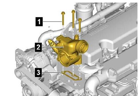How-to-Remove-Install-Thermostat-for-Liebherr-Diesel-Engine-D834-2