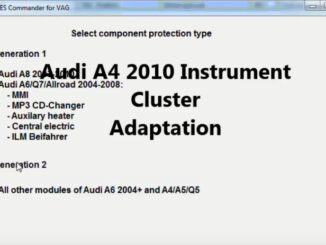 How-to-Reset-Component-Protection-Instrument-Cluster-via-ABRITES-on-Audi-A4-2010-2
