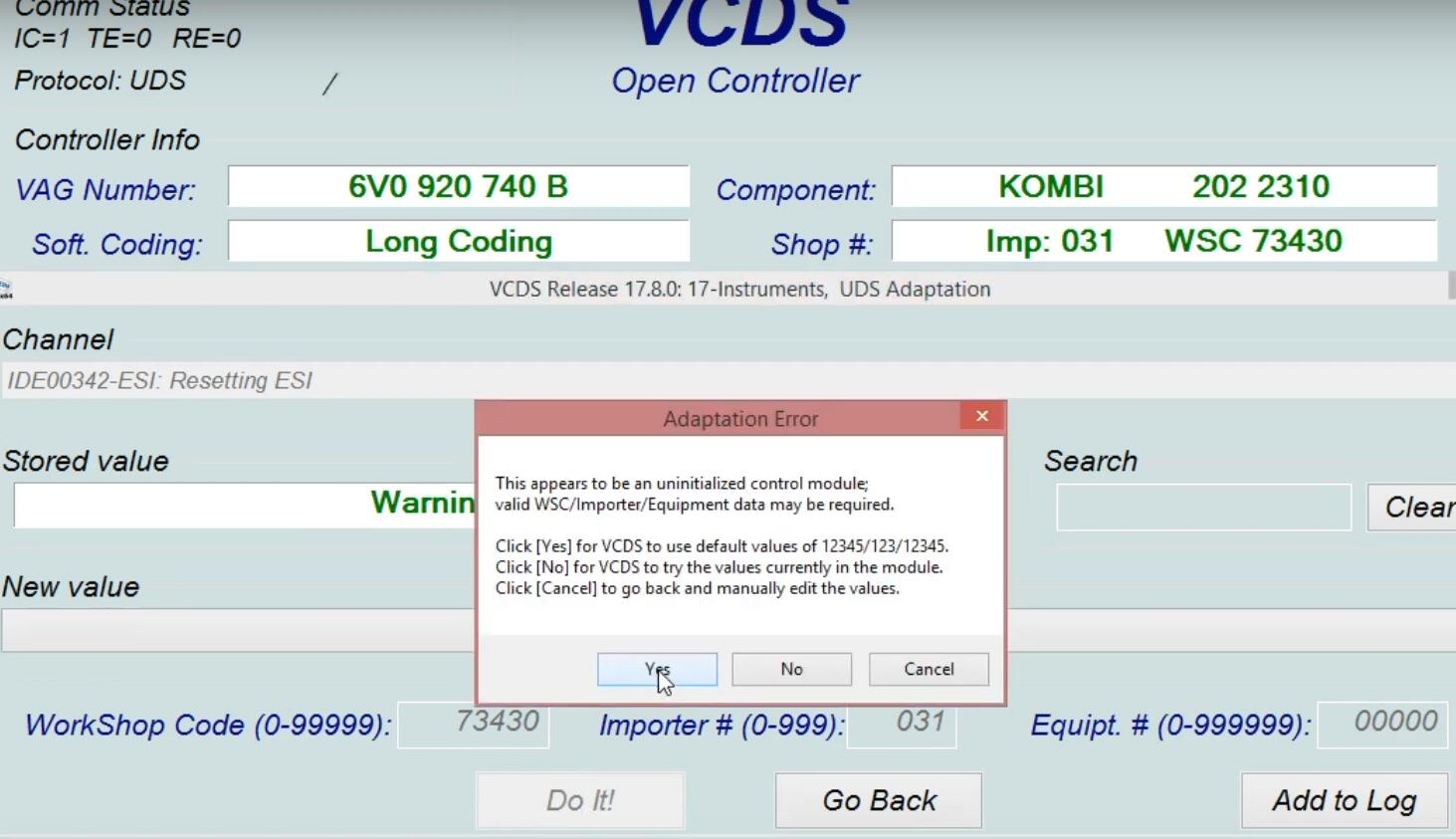 How-to-Reset-Oil-Service-by-VCDS-for-2018-Skoda-Fabia-4
