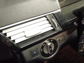 How-to-Remove-Front-Air-VentTrim-panel-frame-for-Mercedes-Benz-E-Class-W212-10