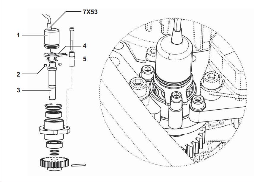How-to-Replace-Steering-Angle-Sensor-for-Still-Steds-iGo-Neo-Forklift-2