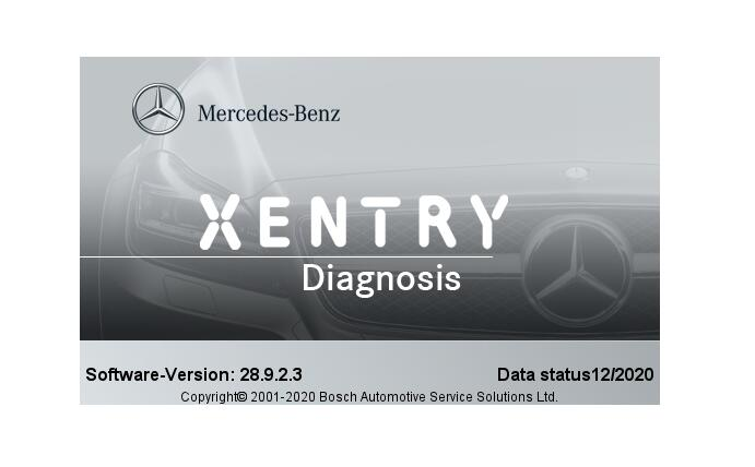Xentry Benz 12.2020 version