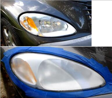 restore headlight