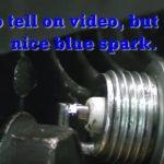 How to tell a bad spark plug via spark color-1