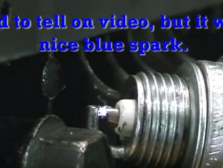 How to tell a bad spark plug via spark color-1