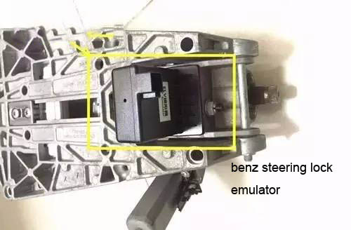 2 Ways To Repair Benz ELVESL Steer Lock Problem9