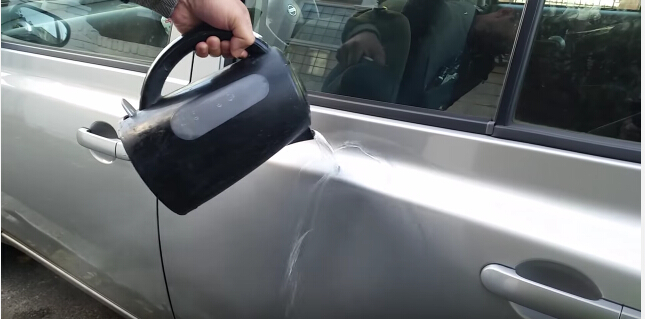 how to remove car dent-2