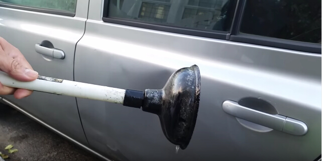 how to remove car dent-4