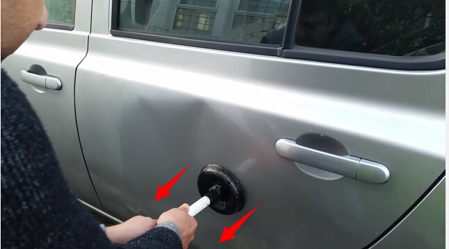 how to remove car dent-5