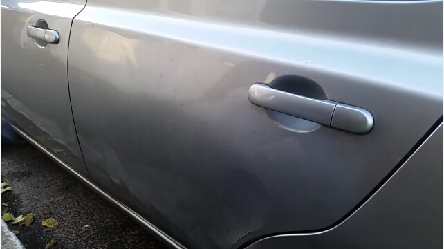 how to remove car dent-7