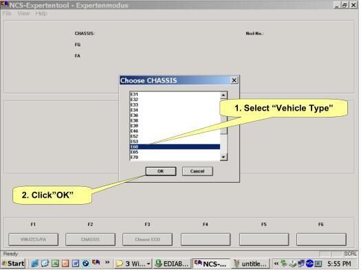 NCS Expert change BMW Vehicle Order-4