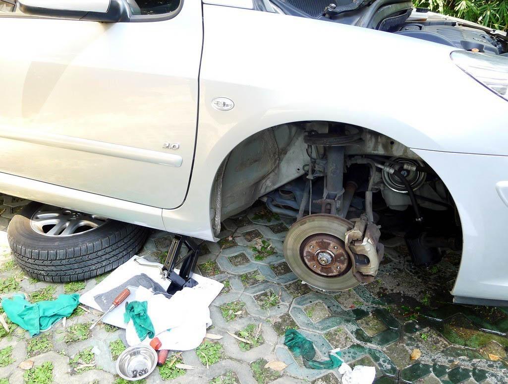 How to solved Peugeot 307 Power Steering Pump Leaking-4