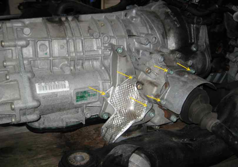 How To Replace Transmission Mount On VW Passat-4