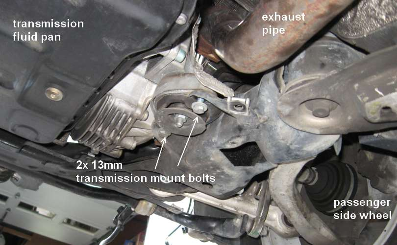 How To Replace Transmission Mount On Vw Passat Auto