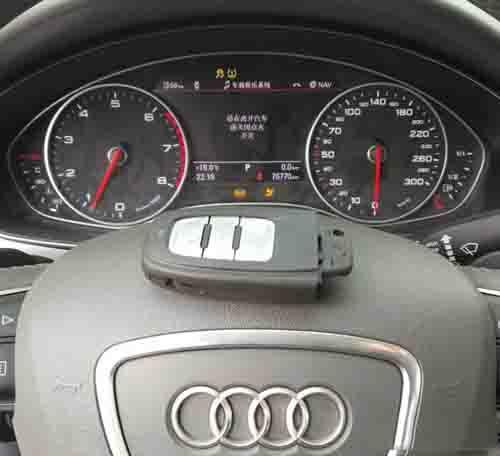 Program Audi A6L 2015 Smart Key 5th IMMO All Key Lost-22