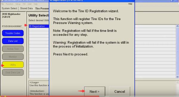 Techstream-replace-broken-TPMS-sensor-(9)