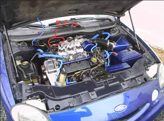 Ford Taurus ECU location