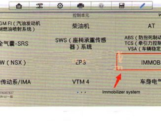 Honda XRV IMMO light on after replacing ECU (ECU Program)-1