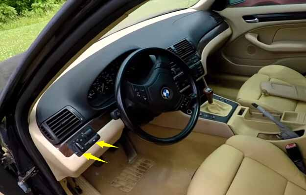 How to Remove and Install BMW Light Control Module-1