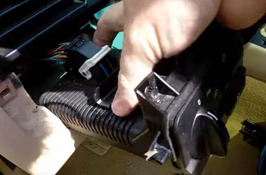 How to Remove and Install BMW Light Control Module-8