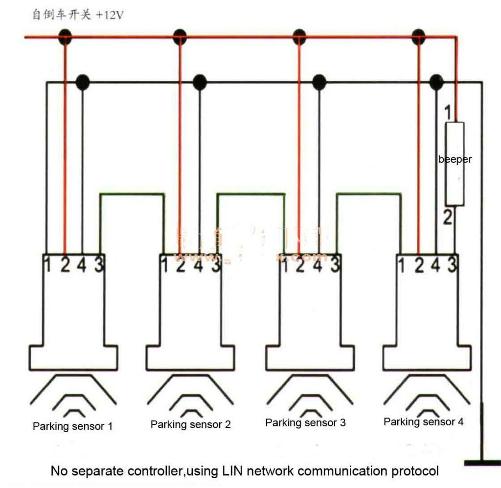 reverse park assist system working principle-3