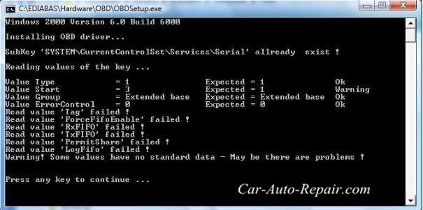 How To Install BMW Ediabas INPA On Win XP Vista (14)