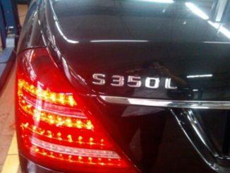 Mercedes Benz S350L TPMS Reset Gudie (1)
