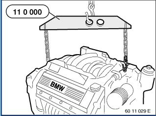 How-to-Remove-and-Install-Engine-M62-for-BMW-7-Series-13