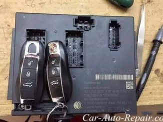New Porsche Dead Can Not Start After Key Program (3)