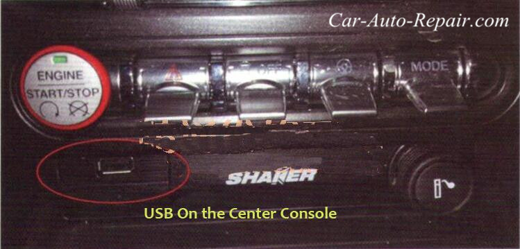 Ford Mustang USB Interface Can Not Charge for Phone-1