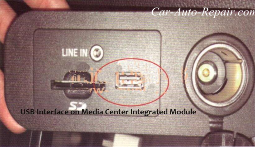 Ford Mustang USB Interface Can Not Charge for Phone-2