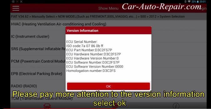 FIAT 2012 Throttle Body Self Learning Guide-3
