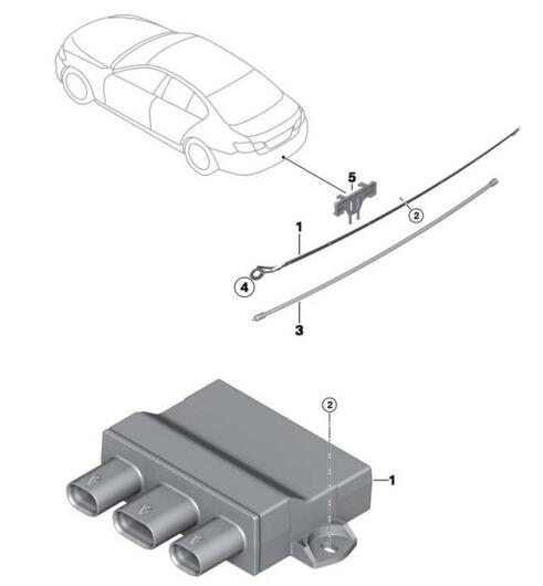 BMW 5 Series F10 2011 Smart Opener Retrofit Guide (2)