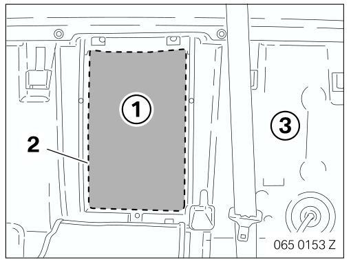 BMW 7 Series(E65 & E66) Ski Bag Retrofit Guide (2)