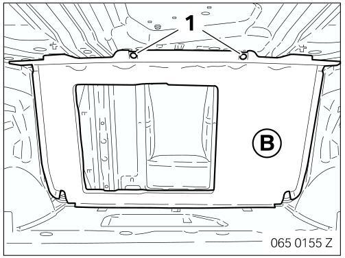 BMW 7 Series(E65 & E66) Ski Bag Retrofit Guide (4)