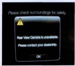 Ford Edge Rear View Camera Unavailable Repair