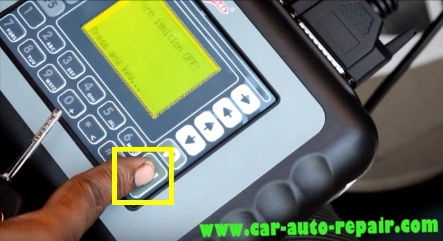 Hyundai I-20 Remote Matching by SBB Key Programmer-4