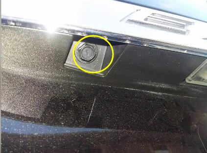 Ford Explorer Rearview Backup Camera Replacement (2)