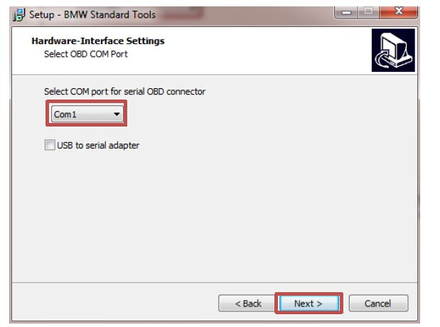 How to Install BMW Standard 2.12 Software (10)