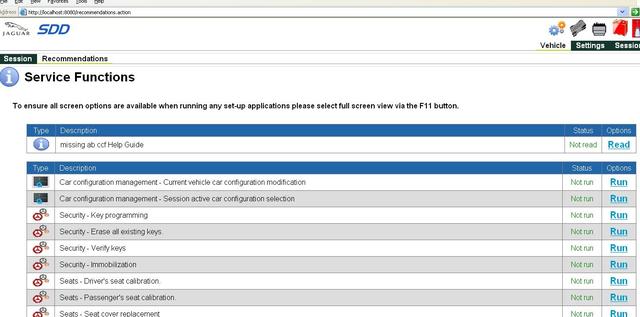 JLR SDD Software Download