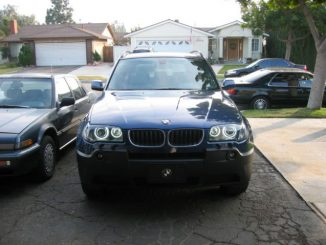 BMW X3 Angel Eyes Installation & Retrofit (9)