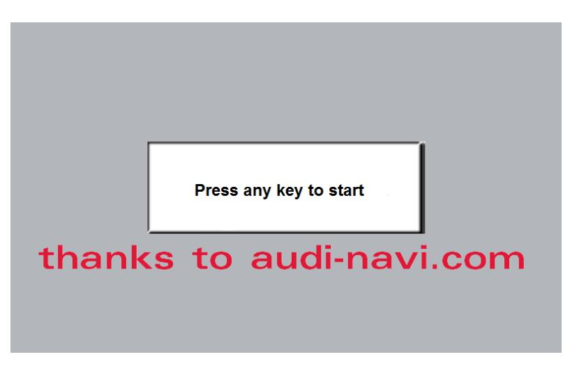How to Enable Audi MMI Green Menu(Hidden Menu) by VCDs & Script (6)