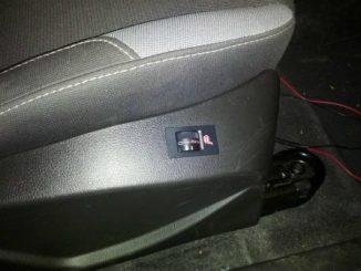 Install & Retrofit Ford Focus Heated Seat (3)
