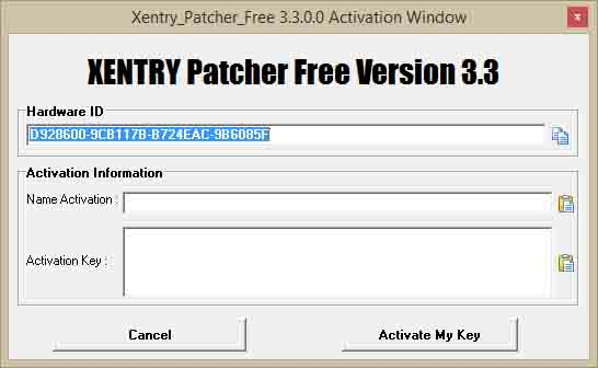 Xentry OpenShell Patcher Edition v3 3 Download for Win 7/8