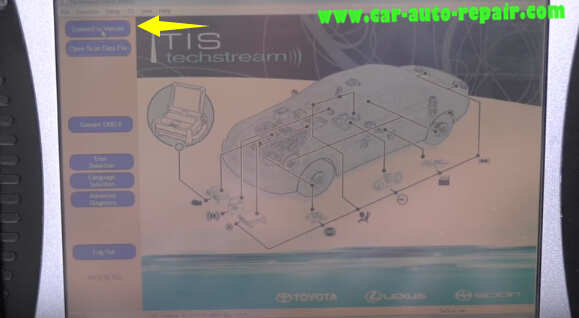 How to use Toyota TIS Techstream (2)