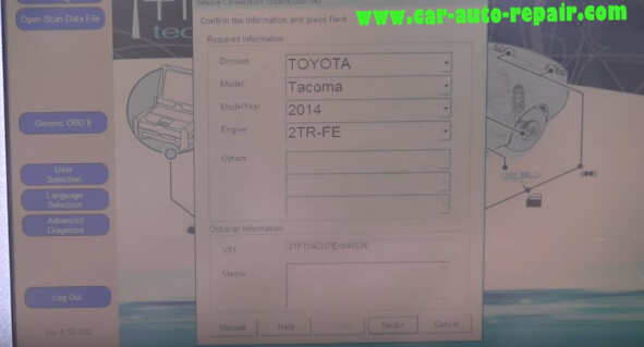 How to use Toyota TIS Techstream (3)